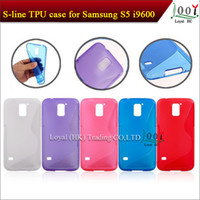 For Samsung s5 i9500 TPU For Christmas In stock 8 Colors S Line TPU Gel Case For Samsung Galaxy S5 i9600 DHL,FEDEX Fast Free Shipping