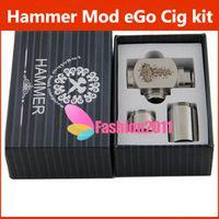 Electronic Cigarette Battery  NEW E cigarette Hammer pipe Mod Kit E pipe Mod Mechanical Hammer battery body for 510 thread atomizer electronic cigarette 002086