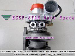 TD05H-16G 49178-06310 49178-06300 14411AA091 Turbo Turbocharger for Mitsubishi EVO III For Subaru Impezza WRX Forester 2.0L 58T EJ20 210HP