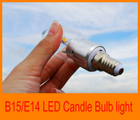 Wholesale 200pcs Energy Saving Cheap Price W E14 B15 High Power LED Candle Chandelier Light Bulb Lamp V Warm White White Hotel lighting