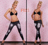 Wholesale Fedex New Fashion Women Sexy Leggings Pants Jeans Jeggings Slim Tights
