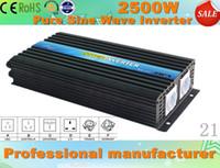Wholesale W Professional Pure Sine Wave Power Inverter Solar Inverter Input DC12V output V