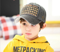 Unisex baseball baby beanie - Spring of the new beanie South Korea baby hat cap spring cotton five star baseball cap