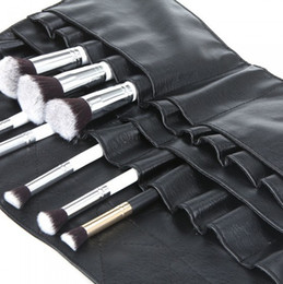 Wholesale Cool PVC Professional Cosmetic Makeup Brush Apron Bag Artist Belt Strap Holder