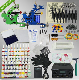 Wholesale US Ship Hotting Machine Guns Power Supply Tattoo kit Seven Kinds for Option