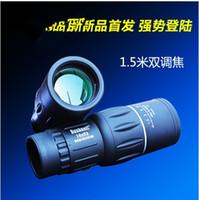 Wholesale Binoculars HD Optics Telescope Dual Focus16x52 telescope Sports Hunting Concert Faint light Night Vision Scope with Green Film