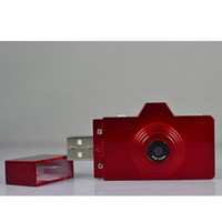 Wholesale 2013 New Cool colorful Usb flash drive camera MP mini digital camera small DV