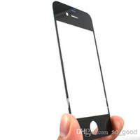 For Apple iPhone front glass iphone 4 - S6 Front Outer Glass LCD Replacement Lens Repair Part Touch Screen For Iphone s s plus Samsung Galaxy S6 S4 S5 Note