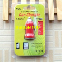 Wholesale Plastic blister uptake clear crystal retail packaging box for mini USB bullet car auto charger adapter