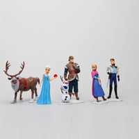 6 Piece Figurine Playset Frozen Action Figure Play Set Anna ...