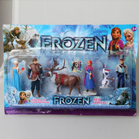 2014 New Arrival Frozen Figure Play Set Retail original Froz...