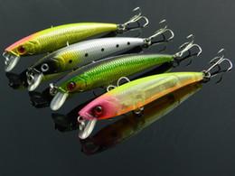 Счастливчики приманок Онлайн-3D Minnow рыбалка воблер Lucky Craft жесткий приманки пресной воды глубокие воды Minnow бас рыболовные снасти 92 мм / 8 g