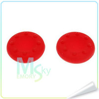 Cheap Hot Sale Multicolor ThumbStick Rubber Grip Covers for XBOX 360 xbox one for ps3 ps2 silicone gel thumb grip stick caps free shipping 002104