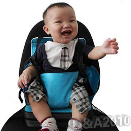 Wholesale New Hot Baby Portable Toddler Dining Chair Booster Fold up Seat Cushion Bag Baby