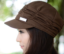 Wholesale Womens Lady Hat Baseball Caps Womens Accessories Slouchy Beanie Cap Fashion Hat Women Hats
