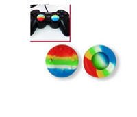 For Xbox PS4  Analog Stick Covers for Microsoft Xbox One PS4 3D Colorful Controller Caps 2200PCS LOT