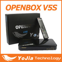 Wholesale 20pcs Original Openbox V5S HD full p satellite receiver support usb wifi youtube cccamd same as Skybox F5S