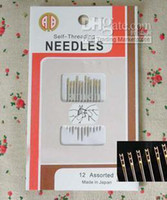 Wholesale sewing needles Self threading needle assorted