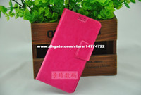 """For Chinese Brand Leather White Luxury Wallet Fashion Leather Case PU Protective Shell Cover Feiteng H9500 5.0"""" Inch ZTE V967S MTK6589 EZIO i95-W i95 Free Ship"""