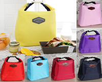 Wholesale Small Red Portable Insulated Cooler Picnic Lunch Carry Tote Storage Bag