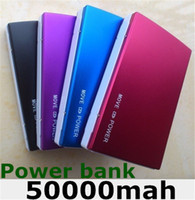 Charge mobile phone, electronic products Direct Chargers  High capacity 2 Usb Port 50000 MAH Power Bank 50000mAh portable charger External Battery for all Mobile phone charging