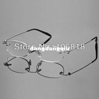 Rimless Fashion Glasses Clear Fashion Lightweight Unisex