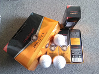 golf balls - 2015 New product golden package golf ball china post freeshipping