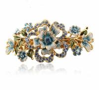 Cheap Barrettes & Clips Flower Hair clip Best Women's Gift wedding accessories bride