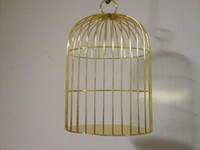 Wholesale European and American luxury fashion house model room decorations ornaments crafts Birdcage