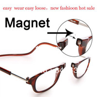 Wholesale Hot Sale Upgraded version fashion Adjustable magnetic Front Connect Reader unisex reading glasses