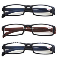 Wholesale 3 Pairs Womens Mens Nearsighted Lightweight Black Brown Reading Glasses Lens Strength