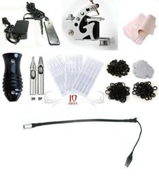 Wholesale 7252K0 pro Tattoo Machine Equipment Set Starter Kit Guns combine power supplies