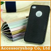 Wholesale For iPhone S S Sunflower Stainless Steel Metal Case New Design Colorful Hollow Pattern Heronsbill Cover Slim Mesh Back Shell