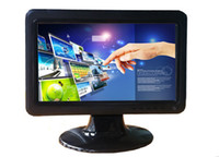 Indoor touch screen lcd tv - 10 inch x600 Touch Screen LCD Monitor with HDMI TV VGA AV Port