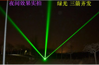 Wholesale mw w nm Green Laser Pointers can focus burn matches with key