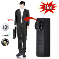 Wholesale spy hidden button camera mini DV camera hd camera HD x480 Button Pinhole Spy Camera Hidden DVR Camcorder FPS Video Voice