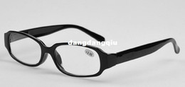 Wholesale 2014 Promotional Gift Spring Hinge Temples Plastic Frame Reading Glasses For years to years old people