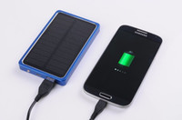 4000 mAh USB 2. 0 Solar Power Bank External Battery Charger F...