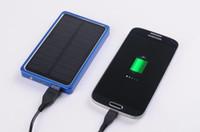 4000 mAh USB 2. 0 Solar Power Bank External Battery Charger F...