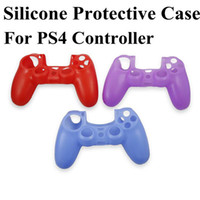 PS4 Protective Sleeve Case  New Multicolor Silicone Case Protective Sleeve Skin for Sony PlayStation 4 PS4 Controller (02009)