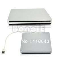 Wholesale External USB2 Optical Drive Case Enclosure For Apple Macbook mm mm SATA DVD RW Super Slim Slot in