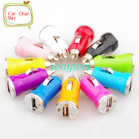 Universal Car Chargers  Colorful Mini USB Car Charger For IPhone 5c 5s 5 4 4G 3G IPod HTC Samsung Blackberry Nokia Motorola Auto Adapter