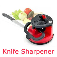 Wholesale Newest Practical Home Kitchen Knife Sharpener with suction PAD Tungsten Carbide steel blade safe and easy