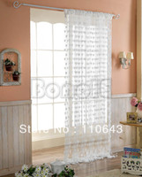 Wholesale New White Line Curtain String Curtain String panel Fringe panel Room divider Wedding drapery cm cm