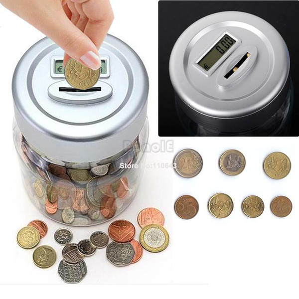Coin Banks Target Bank Digital Coin Counting