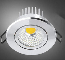 Wholesale NEW Arrival COB 15W LED high power Recessed Ceiling Downlight COB light 85-265v Silver aluminum with waterproof driver