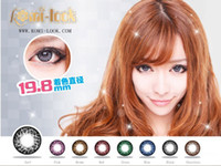 Wholesale New Arrival Contacts lenses Genuine Na him she pineapple tricolor Top Sale contact lenses make your eyesmore beautiful