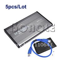 Wholesale Holiday Sale USB quot SATA HDD Hard Drive External HDD Enclosure Case