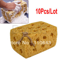 Wholesale 10pcs New Practical Yellow Car Vehicle Cleaning Washing Cuboid Coral Car Cleaning Sponge