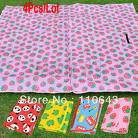 Plastic 17167# B_278# Polypropylen Waterproof 4Colors 180x160cm Kid's Game Blanket Baby Crawling Pad Outdoor Beach Camping Mat Picnic Mat 17167 B_278